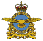 Insigne de l'Aviation royale canadienneDrapeau de l'Aviation royale du Canada