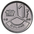 Coin BE 1F Baudouin rev NL 89.png