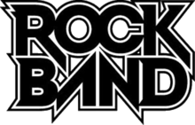 alt=Description de l'image Rock Band Logo.png.