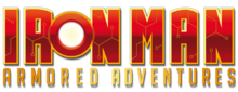 alt=Description de l'image Iron-Man-Armored-Adventures-Logo.png.
