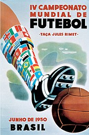Description de l'image  Fifa brésil 1950.jpg.