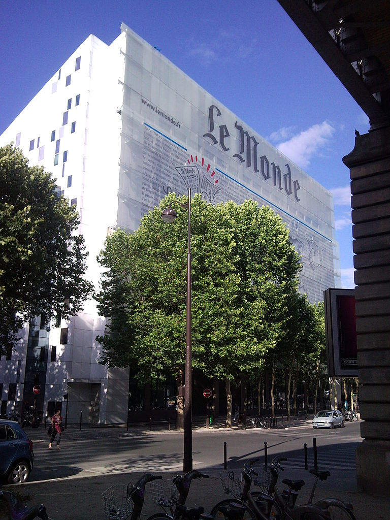 Fichier le monde siege boulevard blanqui wikip dia - Maison du monde siege ...