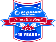 Description de l'image Logo 2014 des 10 ans du Poinsettia Bowl.PNG.