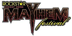 image illustrative de l'article Mayhem Festival