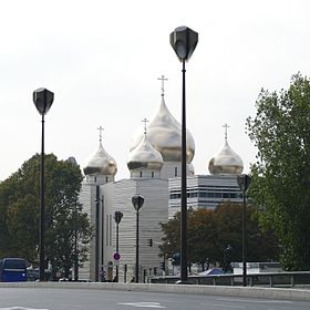 Image illustrative de l'article Cathédrale de la Sainte-Trinité de Paris (orthodoxe russe)