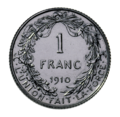 Coin BE 1F Albert I rev FR 41.png