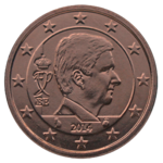 Coin BE 5c Philippe obv.png