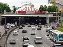 Boulevard p riph rique de paris wikip dia - Piscine des tourelles porte des lilas ...