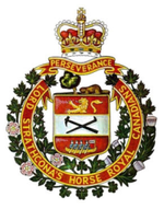 Insigne du Lord Strathcona's Horse (Royal Canadians)