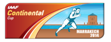 Description de l'image Logo Coupe continentale d'athlétisme 2014.png.