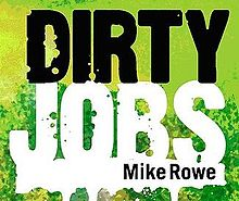 Logo de la série Dirty Jobs.