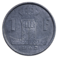 Coin BE 1F Leopold III WWII rev 71.png