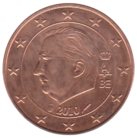 BE 5 euro cent 2010 Albert II.png