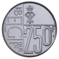Coin BE 250F Paola rev.png