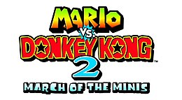 Mario vs Donkey Kong 2 March of the Minis Logo.jpg