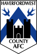 Logo du Haverfordwest County Football Club