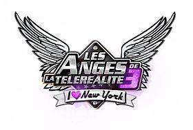 Logo de Les Anges de la téléréalité 3: I Love New York.
