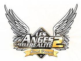 Logo de Les Anges 2 la téléréalité: Miami Dreams.