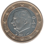BE 1 euro 2011 Albert II.png