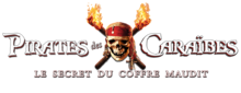 Description de l'image Pirates des Caraïbes Le Secret du coffre maudit Logo.png.