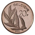 Coin BE 20F Baudouin rev FR 85.png