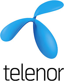 Description de l'image  Telenor logo.jpg.