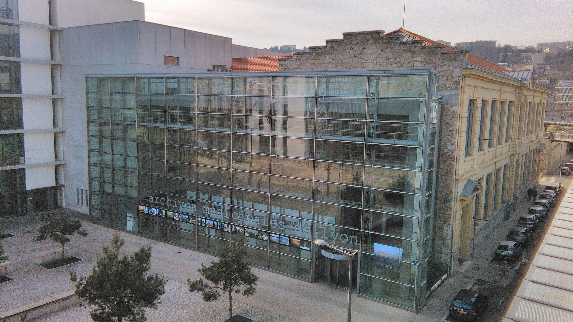 Archives Municipales De Lyon  U2014 Wikip U00e9dia