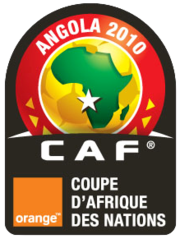 Logo type officiel de la Coupe d'Afrique des nations 2010
