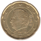 BE 20 euro cent 2008 Albert II.png