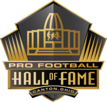 Description de l'image Logo du Pro Football Hall of Fame.png.