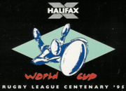 alt=Description de l'image 1995 Rugby League World Cup logo.PNG.