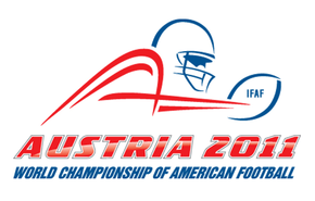 Description de l'image  2011 IFAF World Cup logo.png.