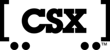 Logo de CSX Transportation