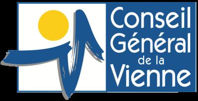 Nouveau logo du Département de la Vienne (2015) 400px-Logo_86_Vienne