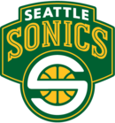Logo du SuperSonics de Seattle