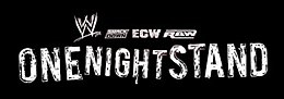 Logo WWE One Night Stand 2007 et 2008.jpg