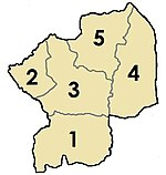 Togo - Centrale - Prefectures (Numbered).jpg