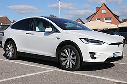Tesla Model an Woningstair