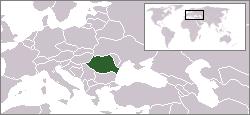 Lokaasje fan Roemeenje