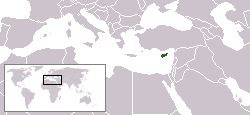 Lokaasje fan Syprus