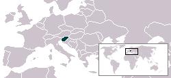 Lokaasje fan Sloveenje