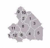 Gemeenten in Drinte