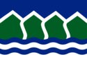 Flagge fan North Vancouver (distriktgemeente).png