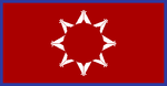 Flagge fan de Oglala Sû Stamme fan it Pine Ridge Reservaat fan Súd-Dakota.PNG