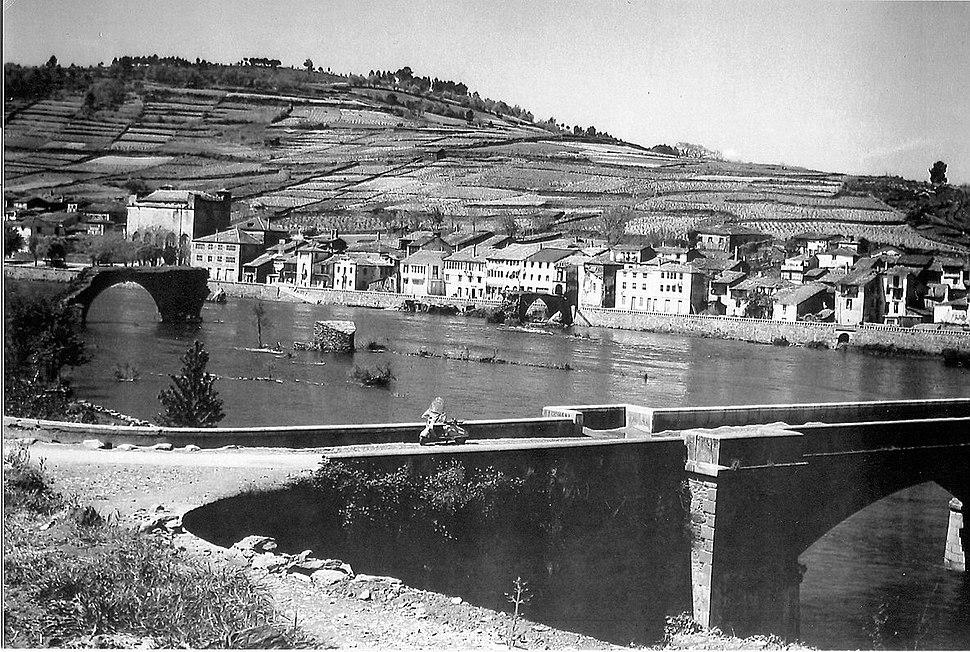 Portomarín arredor de 1920