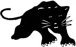 הלוגו של תנועת הפנתרים השחורים