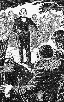 Daniel Webster and the Devil argue in court.jpg
