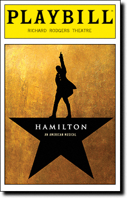 Playbill from the original Broadway production of Hamilton.jpg