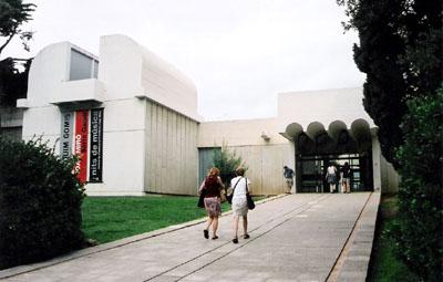 הכניסה למוזיאון חואן מירו