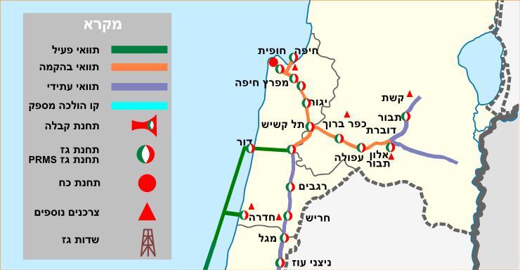מתוחכם קובץ:מפת נתיבי גז - צפון ישראל.jpg – ויקיפדיה WM-32
